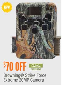 Browning Strike Force Extreme 20MP Camera