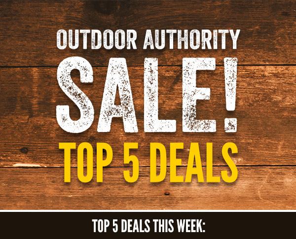 Outdoor Authority Sale Top 5 Deals