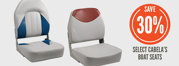 Select Cabela's Boat Seats