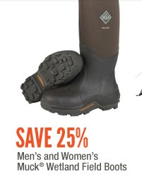 Men's and Women's Muck Wetland Field Boots