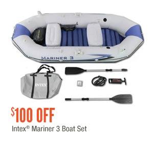 Intex Mariner 3 Boat Seat