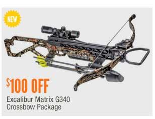 Excalibur Matrix G340 Crossbow Package